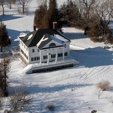 Uniacke Estate from above