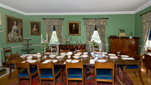 Uniacke-Estate-dining room