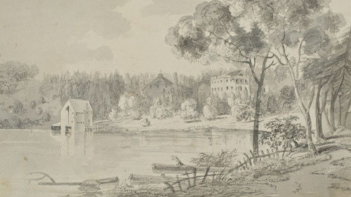 An 1817 View of Uniacke Estate